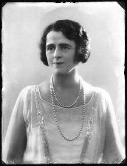 Gertrude Elliott, by Bassano Ltd, 2 June 1925 - NPG x123361 - © National Portrait Gallery, London