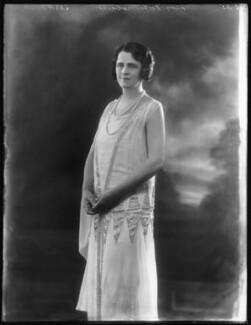 Gertrude Elliott, by Bassano Ltd - NPG x123364