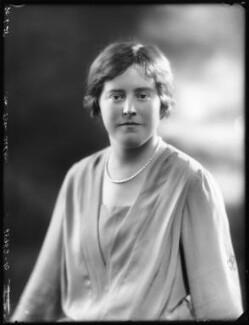 Hon. Margaret Joan Whistler (née Ashton), by Bassano Ltd - NPG x123392