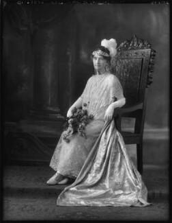 Amelia Frances (née Houston), Lady Bowden, by Bassano Ltd - NPG x123395