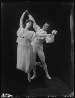 Lydia Kyasht; Alexandre Volinine (né Aleksandr Volinin) in 'First Love', by Bassano Ltd - NPG x101604