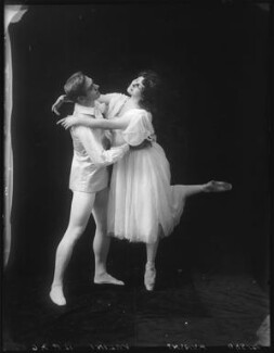 Alexandre Volinine (né Aleksandr Volinin); Lydia Kyasht, by Bassano Ltd - NPG x101606