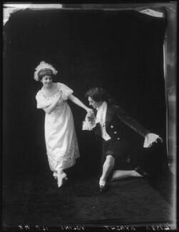 Lydia Kyasht; Alexandre Volinine (né Aleksandr Volinin) in 'First Love', by Bassano Ltd - NPG x101608