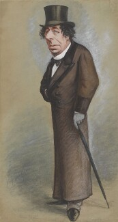 Benjamin Disraeli, Earl of Beaconsfield, by Carlo Pellegrini - NPG 6659