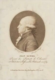 Jean François Rewbell (Reubell), by Franz Gabriel Fiesinger, after  J. Guerin - NPG D15632