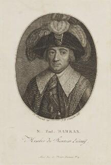 Paul François Jean Nicolas, vicomte de Barras, by J.B. Compagnie, after  François Bonneville - NPG D15633