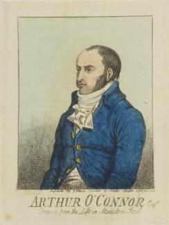 Arthur O'Connor, published by John Aikin, published 26 April 1798 - NPG D15641 - © National Portrait Gallery, London