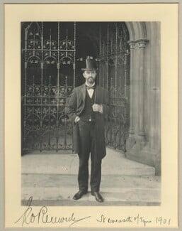 Sir George Renwick, 1st Bt, by Benjamin Stone - NPG x35026