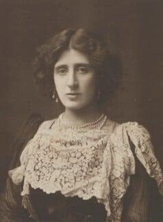 Lady Ottoline Morrell, by Henry Walter ('H. Walter') Barnett, 1902 - NPG P1005 - © National Portrait Gallery, London