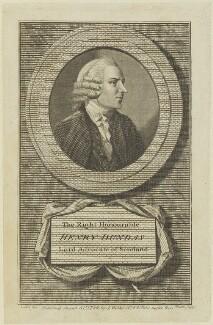 Henry Dundas, 1st Viscount Melville, by James Heath, published by  J. Walker, after  Dodd - NPG D15644