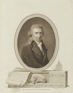 Jean Baptiste Cléry, by Philipp Audinet - NPG D15648