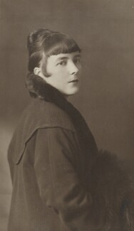 Katherine Mansfield, by John Herbert Folker, 1917 - NPG P1009 - © National Portrait Gallery, London