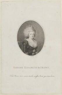 Madame Elisabeth of France, by Anthony Cardon - NPG D15651