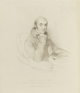 Samuel Rogers, by Henry Meyer, published by  Thomas Cadell the Elder, after  Sir Thomas Lawrence - NPG D15653