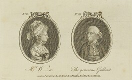 'Mrs W-n and the generous gallant' (John Montagu, 5th Earl of Sandwich), published by Archibald Hamilton Jr - NPG D15658
