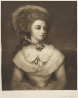 Lady Albinia Cumberland, by Minnie Lee Everett (M. Cormack), published by  Paul and Dominic Colnaghi & Co, after  George Romney - NPG D15666