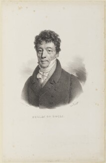 Philippe Antoine Merlin, by and published by François Séraphin Delpech, after  Henri Joseph Hesse - NPG D15670