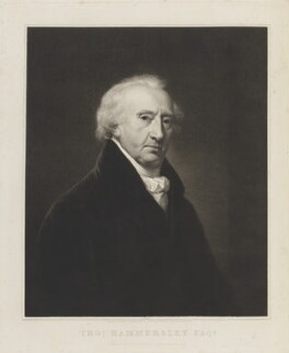 Thomas Hammersley, by and published by Richard Golding, after  Hugh Douglas Hamilton - NPG D15674