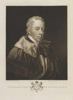 William Lowther, 1st Earl of Lonsdale, by Samuel William Reynolds, after  John Opie - NPG D15680