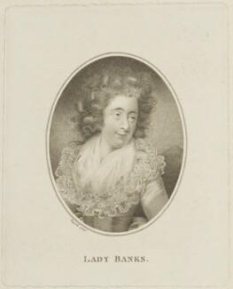 Dorothea Banks (née Hugessen), by Joseph Collyer the Younger, after  John Russell - NPG D15681