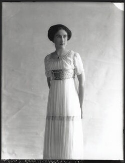 Lady Dorothy Mills (née Walpole), by Bassano Ltd - NPG x33162