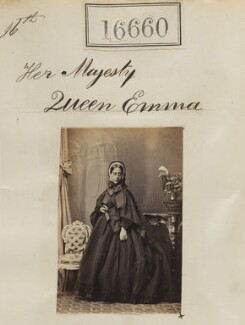 Queen Emma of Hawaii, by Camille Silvy - NPG Ax64561