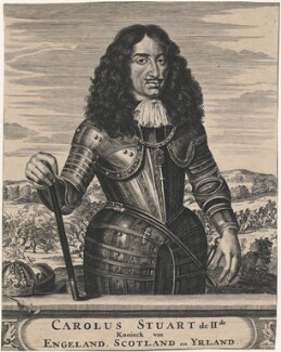 King Charles II, after Pieter Nason - NPG D18497