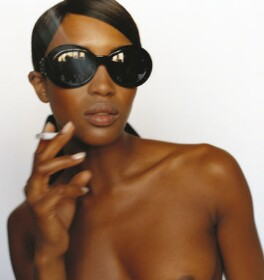Naomi Campbell, by Mario Testino - NPG P1012