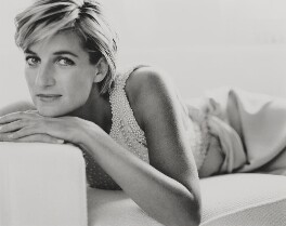 Diana, Princess of Wales, by Mario Testino - NPG P1015