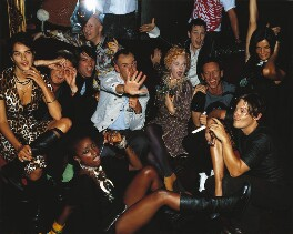 Vogue's Millennium Party, by Mario Testino - NPG P1022