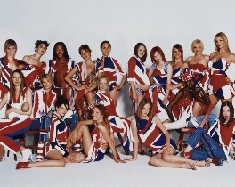 British Models dressed by British Designers, by Mario Testino - NPG P1025