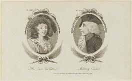 'The fair Violetta and Military exile', published by Archibald Hamilton Jr - NPG D15690