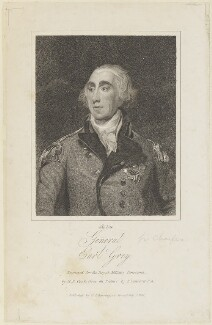 Charles Grey, 1st Earl Grey, by Henry Richard Cook, published by  C.J. Barrington, after  Sir Thomas Lawrence - NPG D15702