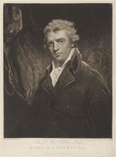 Robert Banks Jenkinson, 2nd Earl of Liverpool, by Henry Meyer, published by  Robert Cribb, after  John Hoppner - NPG D15706