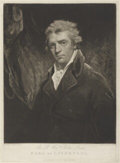 Robert Jenkinson, 2nd Earl of Liverpool, by Henry Meyer, published by  Robert Cribb, after  John Hoppner - NPG D15706