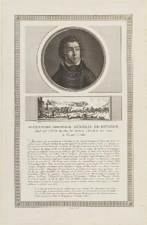 Louis Alexandre Berthier, possibly by Charles François Gabriel Levachez, probably after  Jean Duplessis-Bertaux - NPG D15709
