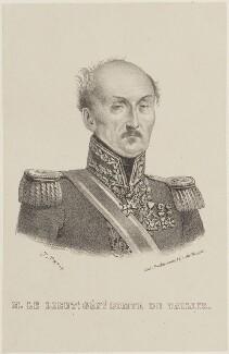 Adrien Jean Baptiste Amable Ramon du Bosc, comte du Taillis, by Prodhomme, after  J. Petit - NPG D15710