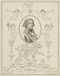 Jean Jacques Régis de Cambacérès, by Jean-François Davignon, and by  Gaudu - NPG D15711