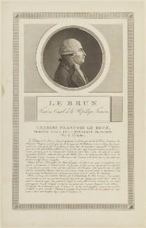 Charles François Lebrun, possibly by Charles François Gabriel Levachez, probably after  Jean Duplessis-Bertaux - NPG D15712