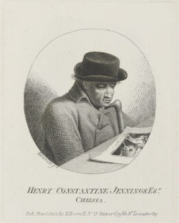 Henry Constantine Jennings, by and published by Edmund Dorrell - NPG D15717