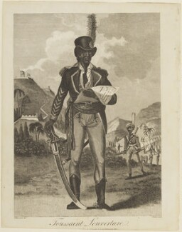 Toussaint L'Ouverture, by J. Barry, published by  James Cundee, after  M. Rainsford - NPG D15719