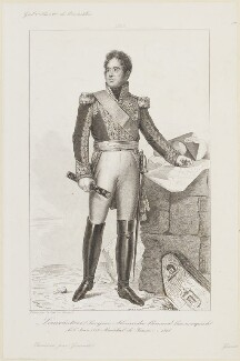 Jacques Alexandre Bernard Law de Lauriston, by Girardet, after  François Pascal Simon, Baron Gérard - NPG D15729