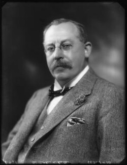 Sir Arthur Wheeler, 1st Bt, by Bassano Ltd - NPG x123461