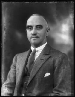 Sir Forster Gurney Goring, 12th Bt, by Bassano Ltd - NPG x123462