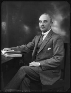 Sir Forster Gurney Goring, 12th Bt, by Bassano Ltd - NPG x123463