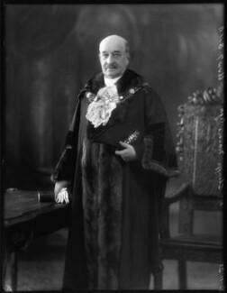 Sir Francis Agar, by Bassano Ltd - NPG x123490