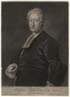 Matthew Tindal, by and sold by John Faber Jr, after  Bartholomew Dandridge - NPG D4368