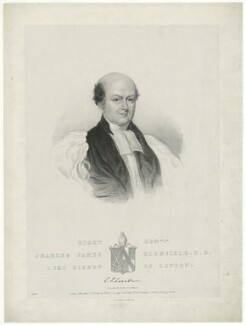 Charles James Blomfield, by John Samuelson Templeton - NPG D18544