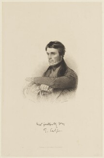 Thomas Carlyle, by John Carr (or James Charles) Armytage, published by  Smith, Elder & Co, after  Samuel Laurence - NPG D15737
