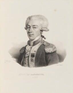 Marie Joseph Paul Yves Roch Gilbert du Motier, Marquis de Lafayette, by and published by François Séraphin Delpech - NPG D15752